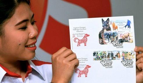 Pos Malaysia Keluar Setem Bertemakan Anjing Kerja