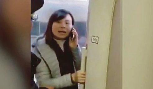Halang Pintu Elak Suami Ditinggal Tren
