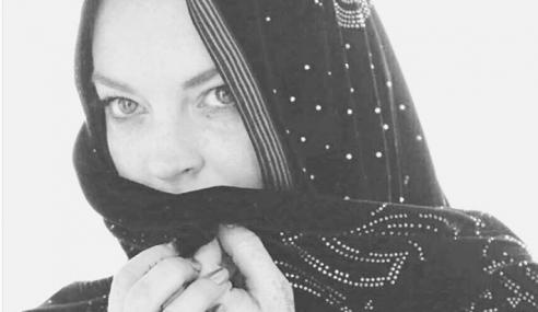 Lindsay Lohan Bakal Lancar Jenama Hijab