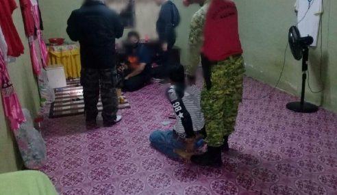Tokan Syabu Ditahan AADK Bersama 14 Penagih Dadah