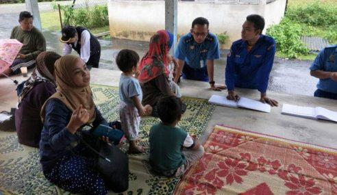 17 Mangsa Banjir Di Dungun Dipindahkan Ke PPS