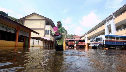 Banjir Kilat Di Maran, 402 Mangsa Dipindahkan