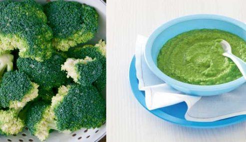 Cara Mudah Sediakan Sup Brokoli Untuk Si Kecil Anda
