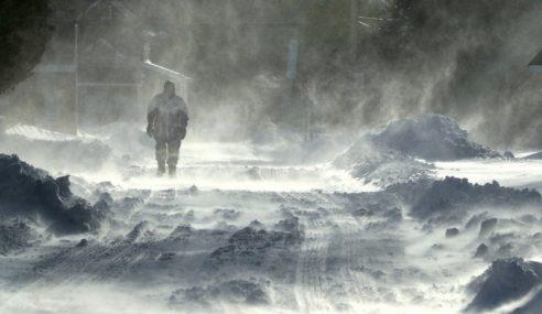 AS, Kanada Dilanda Cuaca Kesejukan Melampau