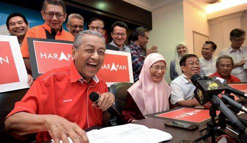 Mahathir Jadi PM 'Sementara' Jika Menang PRU14