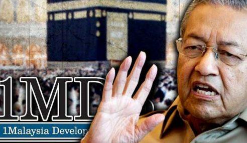 Mahathir Sekali Lagi Anggap Haram Haji Guna Duit 1MDB