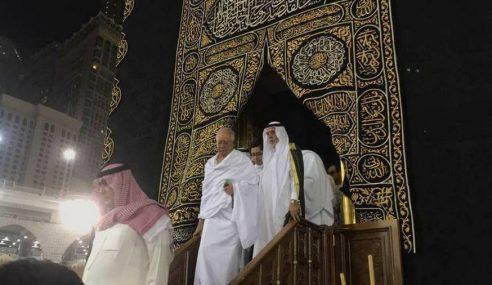 PM Bersyukur Diberi Peluang Khas Memasuki Kaabah