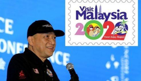 Nazri Pertahankan Logo Visit Malaysia 2020
