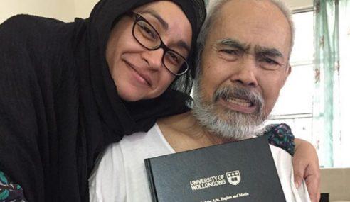 Norzizi Habis PhD Demi Bapa Walau Doa Hampir Putus