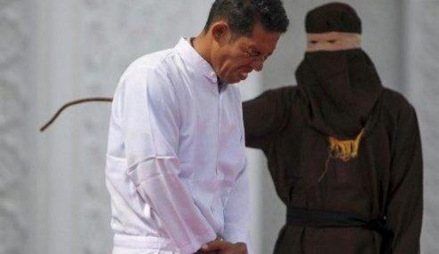 Lelaki Kristian Biadab Jual Arak Disebat Di Aceh