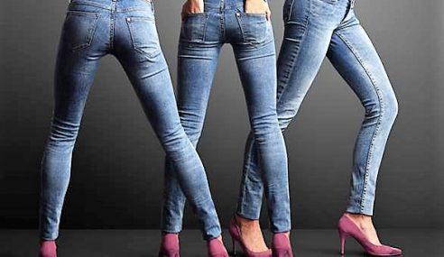 Skinny Jeans Penyebab Utama Sakit Tulang Belakang?