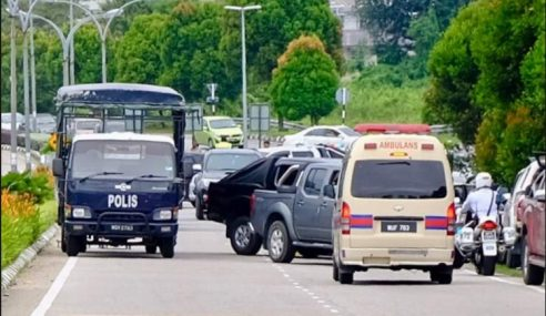 2 Penyamun 3 Negeri Naik Mercedes Ditembak Mati