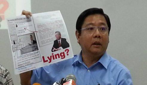 Terowong Dasar Laut: DAP P.Pinang Tak Cakap Benar