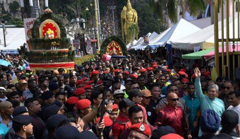 Kehadiran PM, TPM Serikan Sambutan Thaipusam