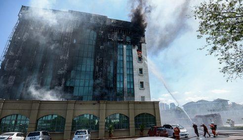 Kalut Dengar Bangunan KWSP Terbakar