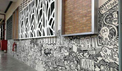 Cikgu 'Kaki Vandalisme' Dinding Sekolah Jadi Viral