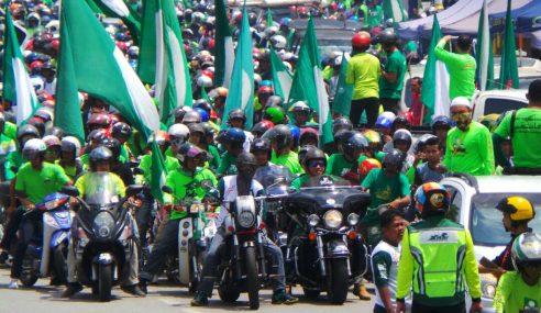 Tunjuk Konvoi Motosikal Boleh Menang PRU Ker?