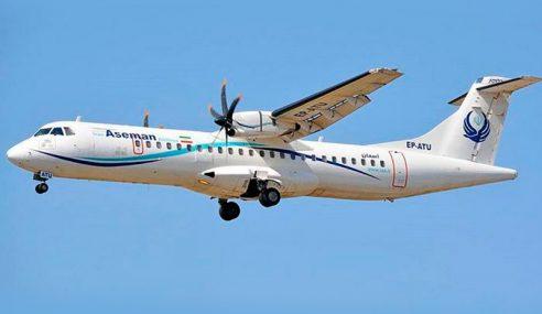 Pesawat Penumpang Terhempas Di Iran