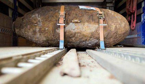 Sebutir Bom Perang Dunia Kedua Ditemukan