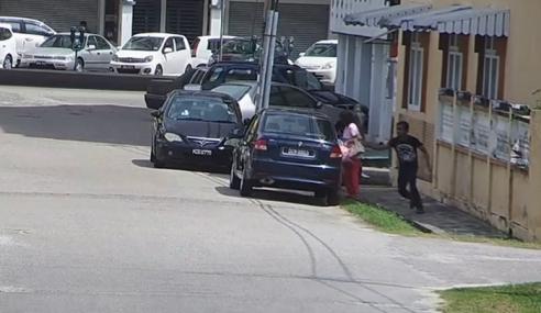 Video: CCTV Rakam Kejadian Ragut Di Kota Bharu