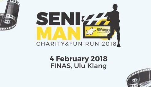 Lebih 2,500 Sertai 'Seniman Charity Fun Run 2018'