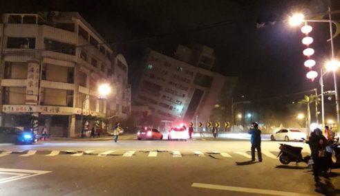 Gempa Bumi Kuat Landa Taiwan Malam Tadi