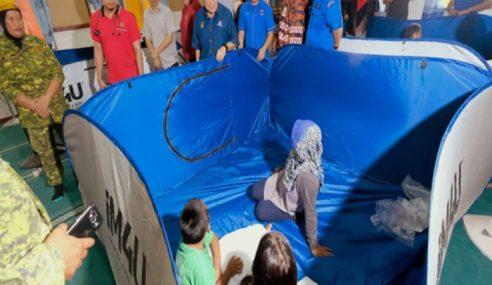 2,320 Mangsa Banjir Di PPS Setakat 8 Pagi