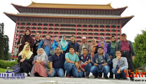 Kolaborasi Taiwan Tourism Bersama Five Estec Travel!