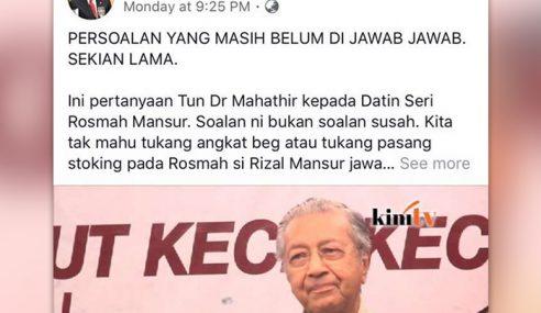 11 Fakta Isu Datin Seri Rosmah Naik Jet Kerajaan