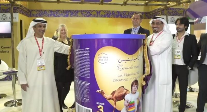 UAE Lancar Susu Bayi Berasaskan Unta Pertama Dunia