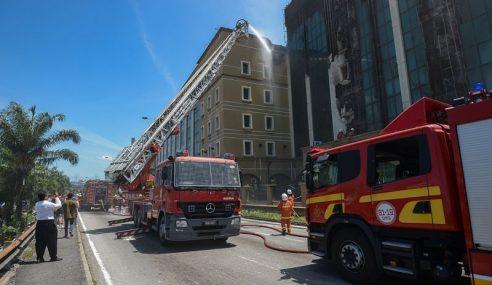 Kebakaran Bangunan KWSP: Tiada Unsur Jenayah