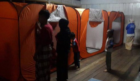 PPS Dewan Komuniti Kota Marudu Ditutup Tengah Hari