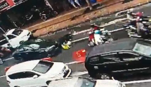 Video: Tokan Dadah Langgar Lari Polis