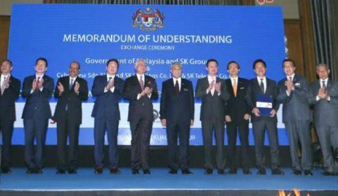 Dasar NBOS Pikat Gergasi Korea Selatan Ke Malaysia