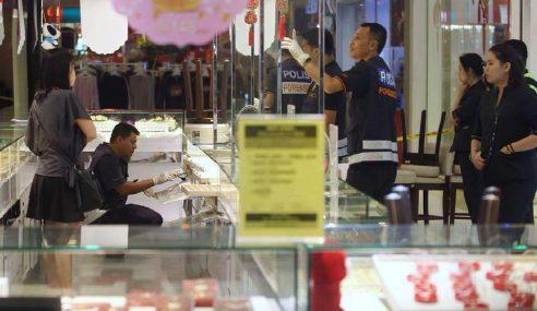 3 Lelaki Rompak Kedai Emas Di Kota Damansara