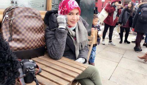 Shahida Dah Penat Jawab Tak Bawa Anak Angkat Bercuti!