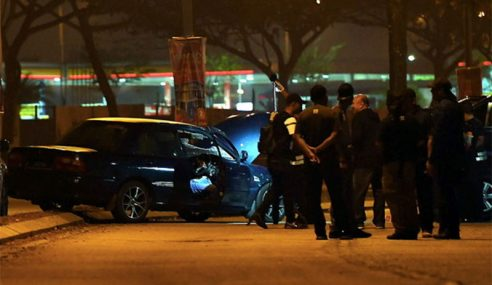 Suspek Kes Samun Keluar Bank Mati Ditembak Polis