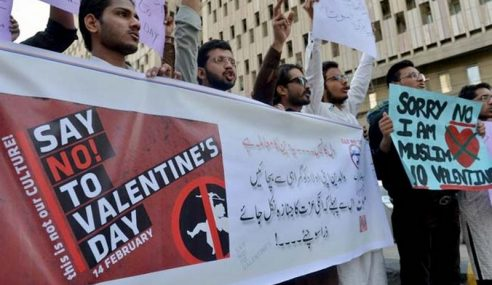 Pakistan Larang Rakyat Sambut Hari Valentine