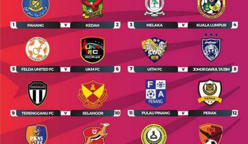Tugas Getir Menanti Kedah Pusingan Ketiga Piala FA