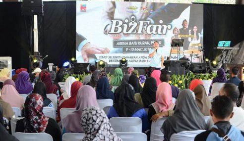 Penduduk Sambut Baik Program BizFair Anjuran SSM