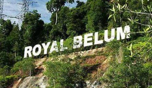Perak Cadang Hadkan Pengunjung Ke Royal Belum