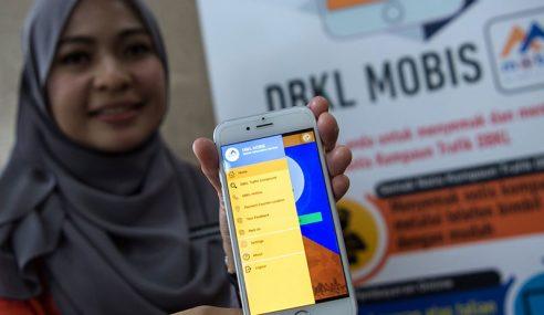 Semak, Bayar Kompaun Trafik Guna 'DBKL Mobis'