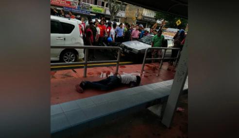 Lelaki Mati Ditembak Di Perhentian Bas