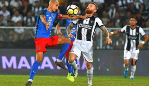JDT Rampas Kembali Kedudukan Teratas Liga Super