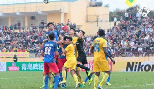 Piala AFC: JDT Kecundang Di Vietnam