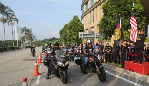 Peserta Konvoi Ride-72 Di Seluruh Negara Dilepaskan