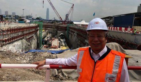 PM Lancar Kerja Pembinaan Terowong MRT Laluan SSP