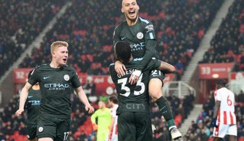2 Gol Silva Bantu Man City Hampiri Kejuaraan