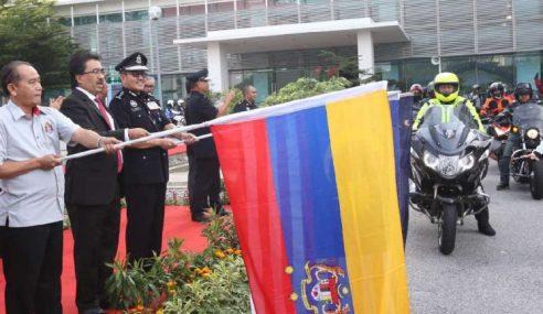 Kumpul Dana: 70 Pegawai, Anggota Polis Sertai TAWP
