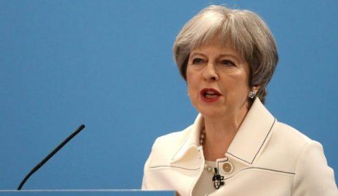Theresa May Mahu EU Bersatu Menentang Rusia